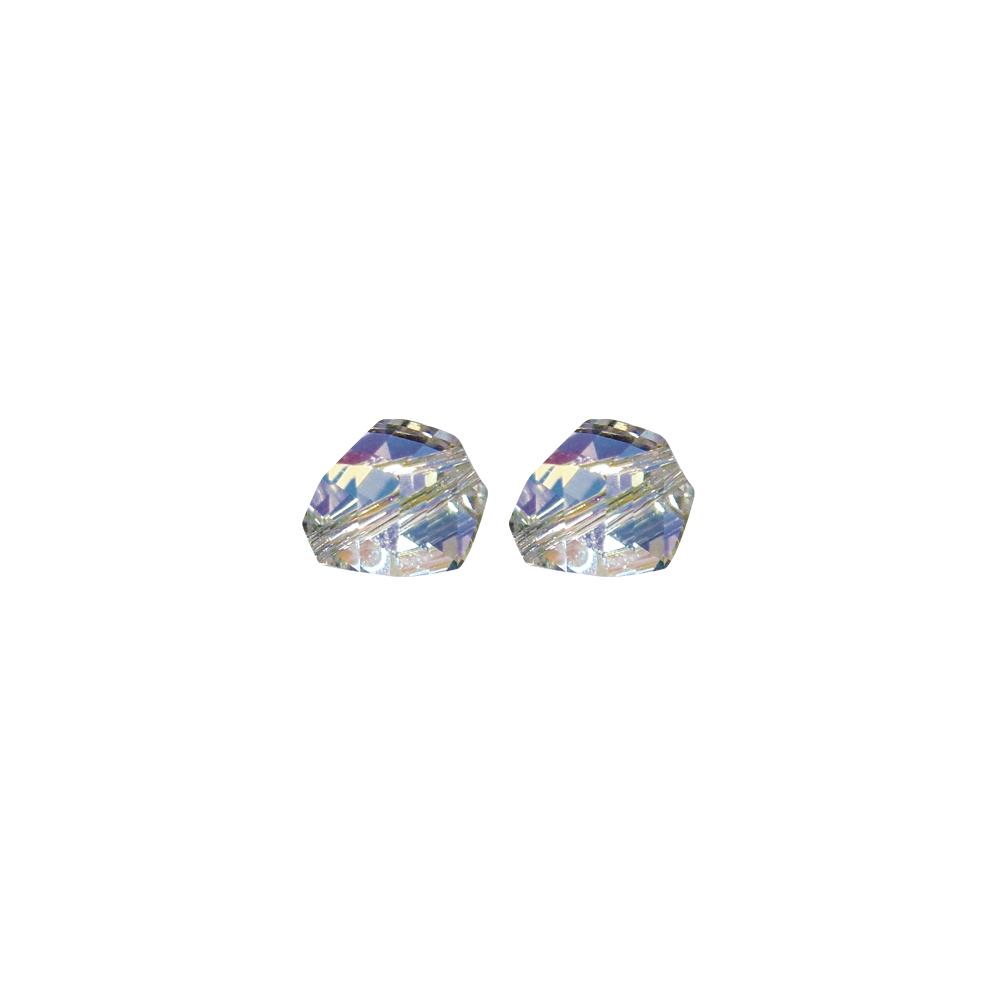 Swarovski Kristall-Helix-Perle, 8 mm, Dose 6 Stück