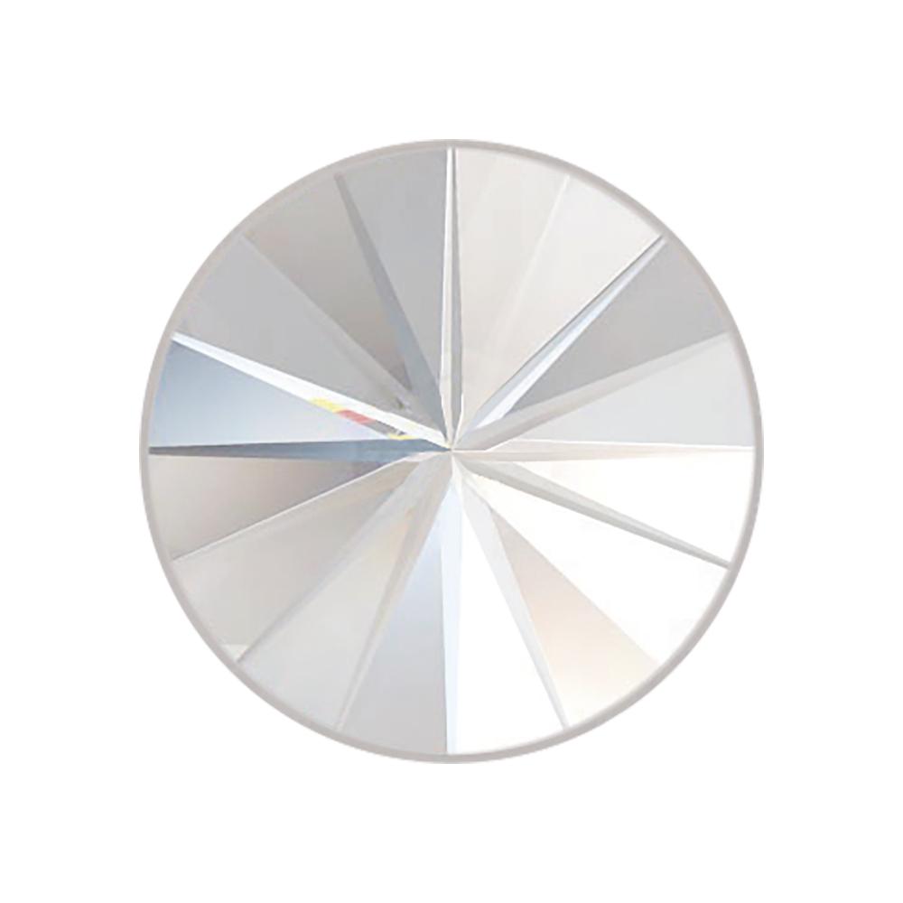 Swarovski-Kristall Rivoli Flat Back, ø 14 mm, Dose 3 Stück, mondstein