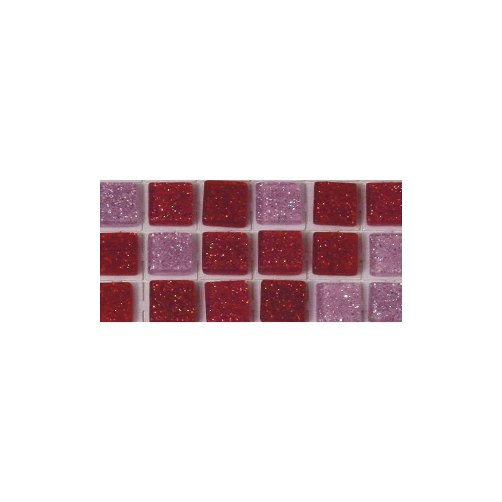 Acryl-Mosaik, Glitter, selbstklebend, ø 5 mm, rund, SB-Btl. 144 Stück,3 Farben