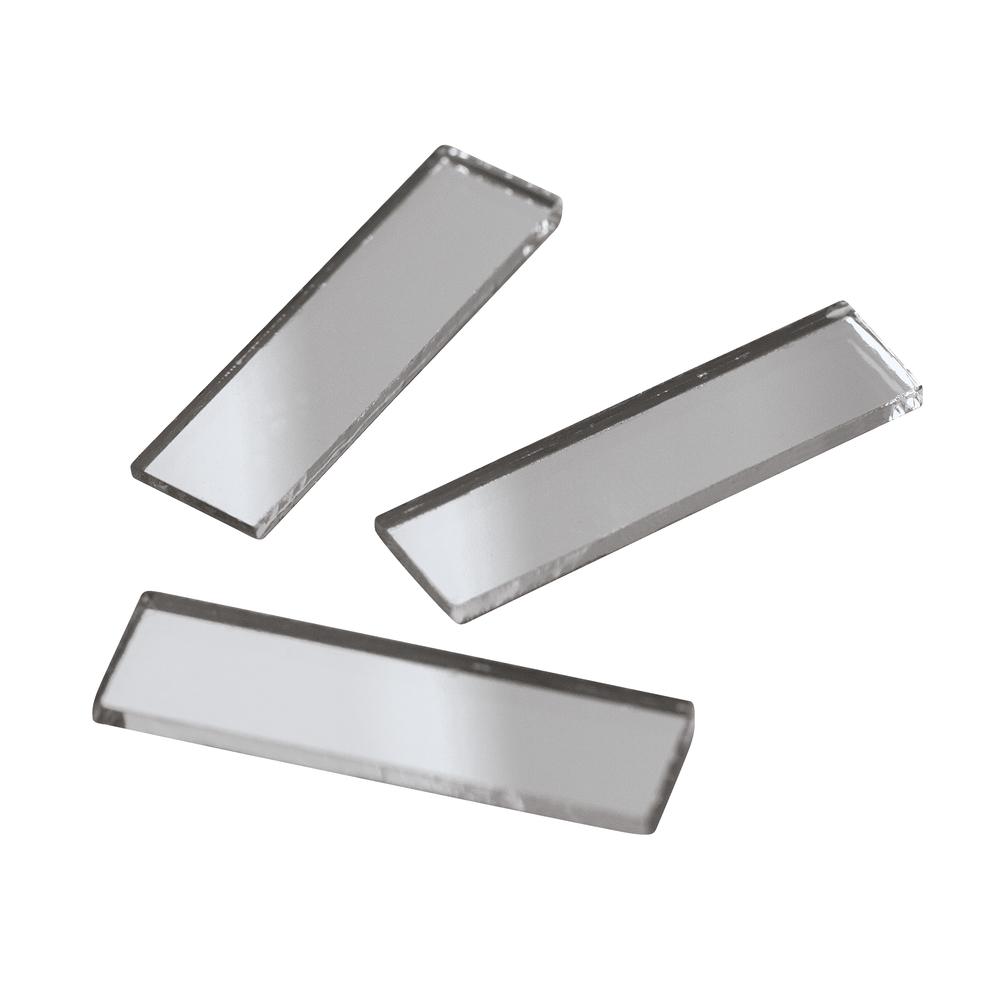 Spiegelmosaiksteine, 1x3,5 cm, SB-Box ca. 110 Stück / 180g