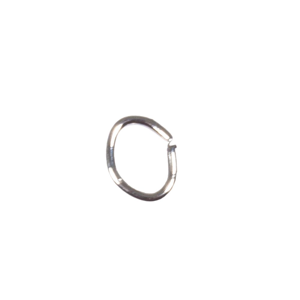 Ringel oval, 3x4mm, Stärke 0,5mm, SB-Btl. 30Stück
