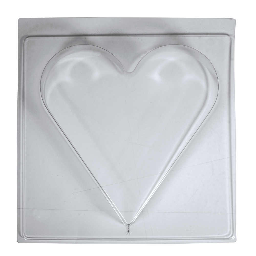 Gießform: Herz, 25x27cm, Tiefe 4cm