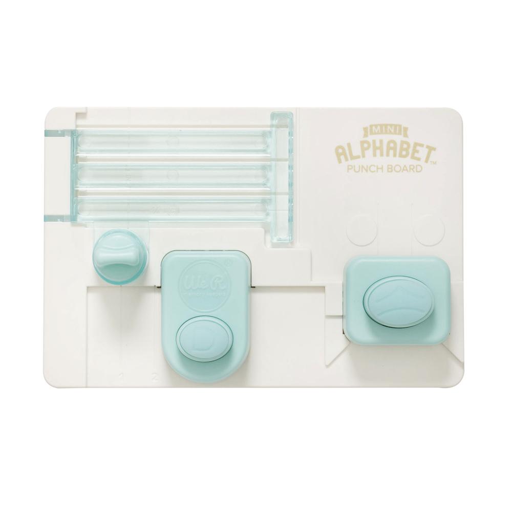 Mini Alphabet Punch Board, SB-Blister