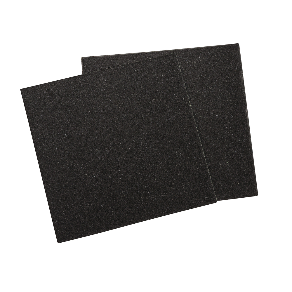 Schleifpapier, Körnung 400er, 86x86mm, SB-Btl 3Bogen