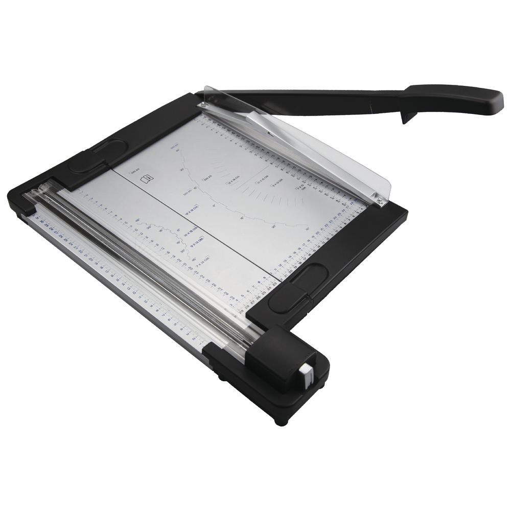 Papierschneidegerät 2 in 1, 54,3x39x7,8cm, Hebel+Rollen Schneider